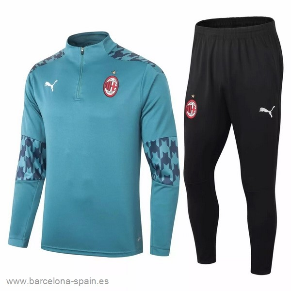 Personalizzate Chandal AC Milan 2020 2021 Verde Negro