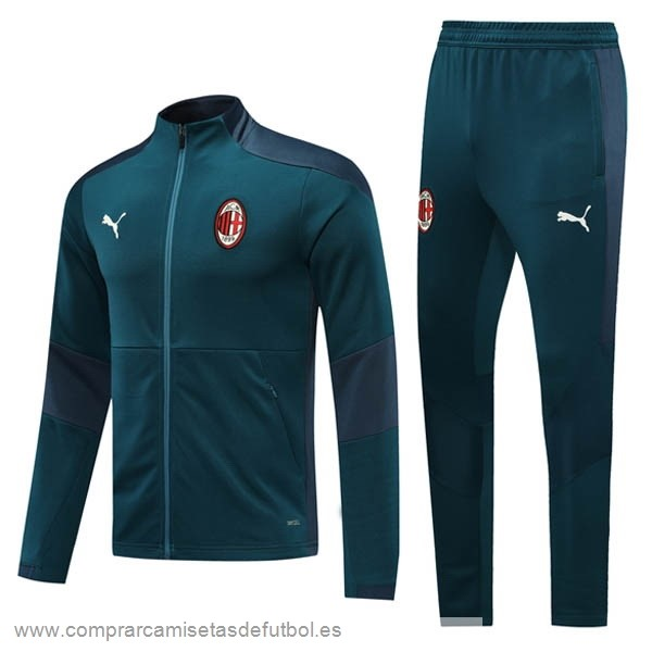 Personalizzate Chandal AC Milan 2020 2021 Verde