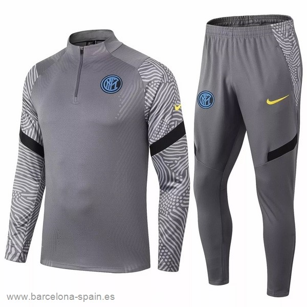 Personalizzate Chandal Inter Milán 2020 2021 Gris