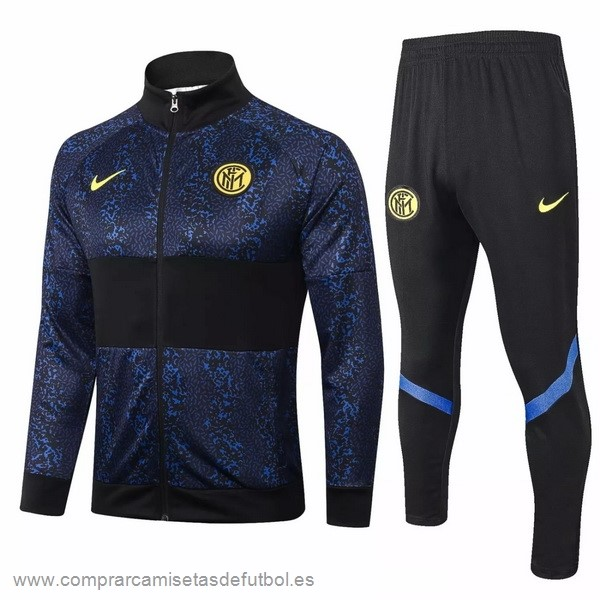 Personalizzate Chandal Inter Milán 2020 2021 Azul Negro