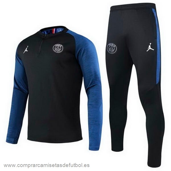 Personalizzate Chandal Paris Saint Germain 2020 2021 Negro Azul