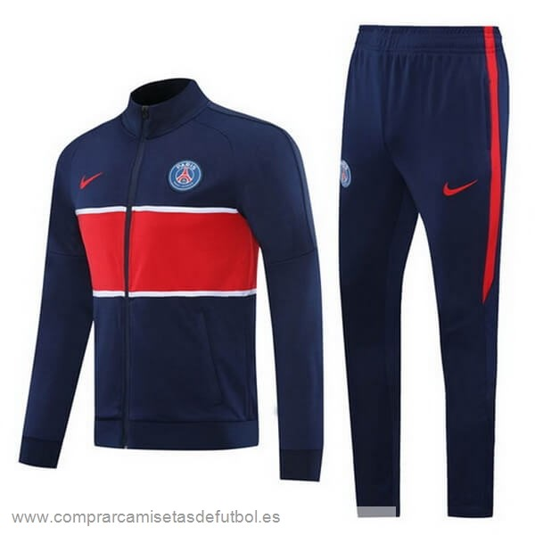 Personalizzate Chandal Paris Saint Germain 2020 2021 Rojo Negro