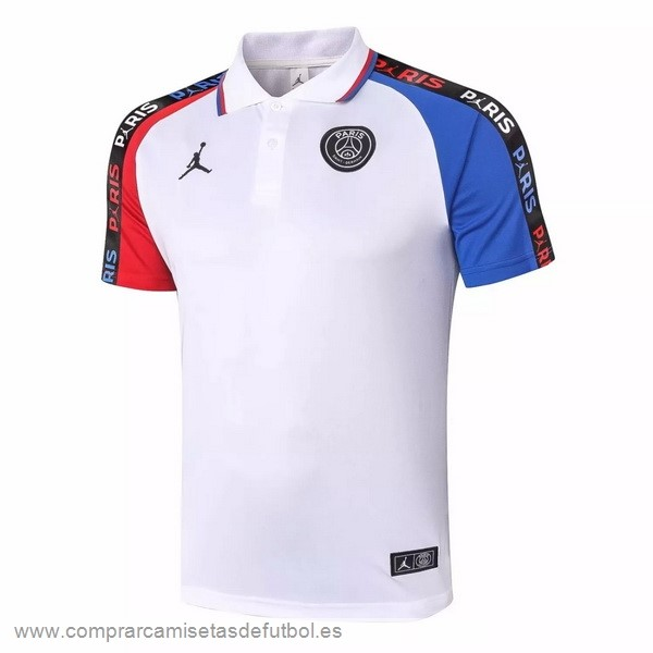 Personalizzate Polo Paris Saint Germain 2020 2021 Blanco Rojo Azul