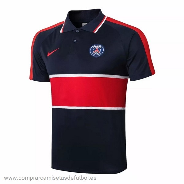 Personalizzate Polo Paris Saint Germain 2020 2021 Negro Rojo Blanco