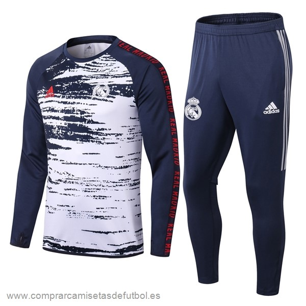 Personalizzate Chandal Real Madrid 2020 2021 Azul Blanco