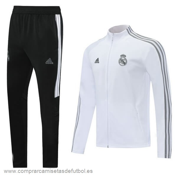 Personalizzate Chandal Real Madrid 2020 2021 Blanco