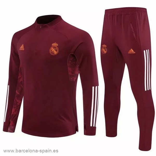 Personalizzate Chandal Real Madrid 2020 2021 Borgona