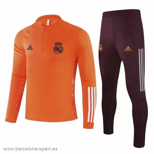 Personalizzate Chandal Real Madrid 2020 2021 Naranja