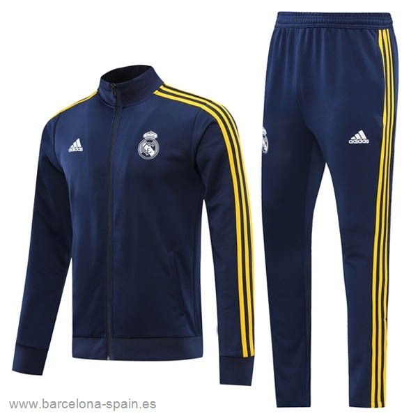 Personalizzate Chandal Real Madrid 2021 2022 Azul Amarillo